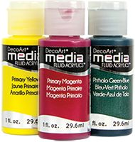DecoArt Media Fluid Acrylics - good prices