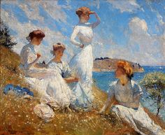 "Frank W. Benson ""Summer 1909"""