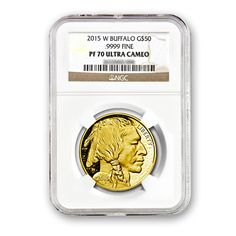 Everye Gold Buffalo Proof 70 coin minted between 2006 and 2014 is up substantially from its initial offering price. This is the chance to acquire the 2015 version of this coin at the IPO price, before it hits the secondary market and starts going up.