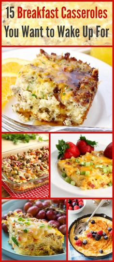 15 Breakfast Casseroles You WANT to Wake Up For!