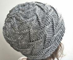 Irma Hat by Aneta Gasiorowska | malabrigo Rios in Plomo