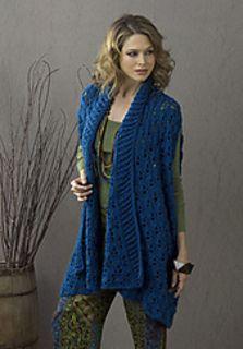 Sherbrook Elongated Summer Jacket by Tammy Hildebrand -- Free pattern