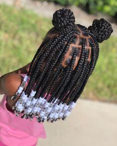 Black Kids Braids Hairstyles, Little Girls Natural Hairstyles, Toddler Braided Hairstyles, Baby Girl Hairstyles, Braids For Black Hair, Black Toddler Girl Hairstyles, African Hairstyles For Kids, Kids Cornrow Hairstyles, Black Girl Braids