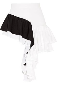 Shop on-sale + adidas Originals Android asymmetric ruffled stretch-cady and crepe de chine shorts. Browse other discount designer Shorts & more luxury fashion pieces at THE OUTNET Kpop Fashion Outfits, Girls Fashion Clothes, Edgy Outfits, Dress Up Outfits, Stage Outfits, Skirt Fashion, Fashion Dresses, Adidas Dress, Korean Street Fashion