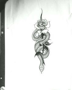 Snake Pink Flower Tattoo Tattoo Snake # snake # - Famous Last Words Pink Flower Tattoos, Snake And Flowers Tattoo, Flower Tattoo Designs, Rose Tattoos, Body Art Tattoos, Hand Tattoos, Tattoo Drawings, Spine Tattoos, Sternum Tattoo