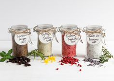 DIY Seasoning Salts