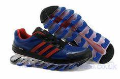 Adidas Springblade Running Blue Red Womens 681aa20695