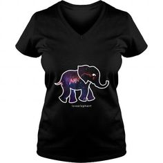 your family and friend:  Galaxy Elephant Tee Shirts T-Shirts