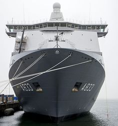 De Karel Doorman in Den Helder