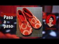 Pantuflas PATITAS - Zapatillas de andar por casa - PASO A PASO con MOLDE/PATRÓN GRATIS - YouTube Slippers, Youtube, Queso, Shoes, Fashion, Loafers & Slip Ons, Molde, Scrappy Quilts, Paper