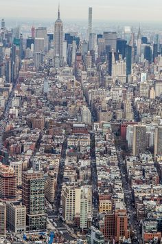 View of NYC from the top of One World Observatory. #NYC #NewYork #NewYorkCity