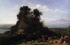 """Claude Lorrain """"Sermon on the Mount"""""""