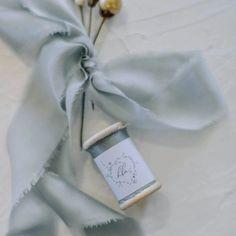 Odette Silk Satin Ribbon 3m #silkribbon #weddingribbon #hamptonwedding #blueribbon Wedding Store, Our Wedding, Silk Ribbon, Silk Satin, Hamptons Wedding, Ribbon Bouquet, Beach Wedding Inspiration, Wedding Vendors, Bridal Accessories