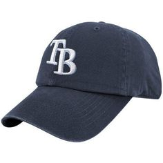 MLB Tampa Bay Rays Franchise Fitted Baseball Cap (X-Large, Navy) '47 Brand. $21.00