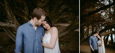 Luize and Henrique couple session in Half Moon Bay, California