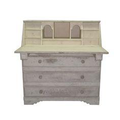 klasický elegantní ručně vyráběný sekretář / stylový toskánský nábytek