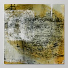 """""""Earth song 5"""" von Iris Lehnhardt Original: Mischtechnik auf Papier #artefactumshop"""