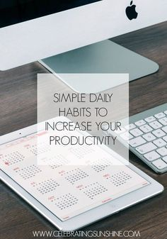 I've compiled a list of habits to ease the procrastination and increase productivity.
