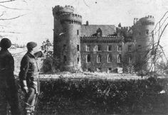 Foto: Schloss Moyland, 1945 © Imperial War Museum London