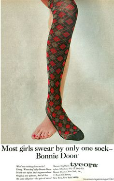 Bonnie Doon Footless Tights with SILK Knitted Style Shorter Length Soft silky