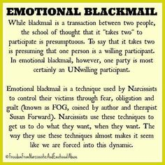 Narcissistic People, Narcissistic Abuse Recovery, Narcissistic Behavior, Narcissistic Sociopath, Narcissistic Personality Disorder, Emotional Blackmail, Mental And Emotional Health, Emotional Abuse, Relationship With A Narcissist