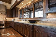Gorgeous cabinetry in this home we built in Park City,  Utah! 📷: @lucycall . #cameohomesinc #utahhomes #parkcity #parkcitygram #kitchen #cabinetry #cabinets #backsplash #woodfloors #interiordesign #interior #design #utah #utahhomebuilder #utahbuilder #luxury #luxuryhomes #houzz #housebeautiful #dreamhome #the_real_houses_of_ig - posted by Cameo Homes Inc. https://www.instagram.com/cameohomesinc - See more Luxury Real Estate photos from Local Realtors at https://LocalRealtors.com/stream