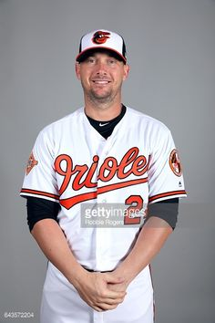 Chris Johnson of the Baltimore Orioles poses during Photo Day on Monday, February 20, 2017 at Ed Smith Stadium in Sarasota, Florida.