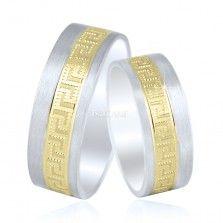 Verighete din Argint 925 Rodiat - Bocane Gold Rings, Wedding Rings, Engagement Rings, Blog, Jewelry, Enagement Rings, Jewlery, Jewerly, Schmuck