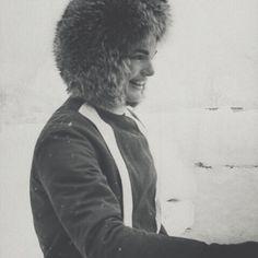 Jackie O does snow