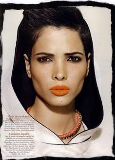 Hanaa Ben Abdesslem Vogue Paris, Tunisian People, Models, First Nations, Model Agency, Fashion Pictures, Hair Inspiration, Short Hair Styles, Makeup