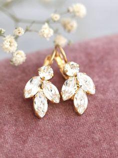 Bridal Crystal EarringsSwarovski Bridal Crystal