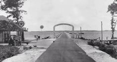 Check out what the bridge to the Outer Banks of North Carolina used to look like!