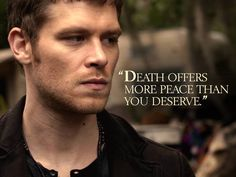 It may be summer, but Klaus doesn't take a vacation from tormenting his foes. #TheOriginals