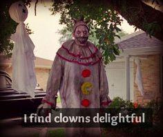 clowns are delightful! AHS Freak Show