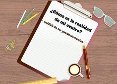 ¿Cómo es la realidad de mi centro? Ignacio Granell García. Notebook, Learning, Centre, Activities, The Notebook, Exercise Book, Notebooks