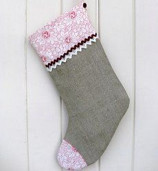 Make A Christmas Stocking | AllFreeSewing.com