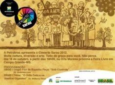 Projeto de cinema e arte ao ar livre chega a Mato Grosso do Sul