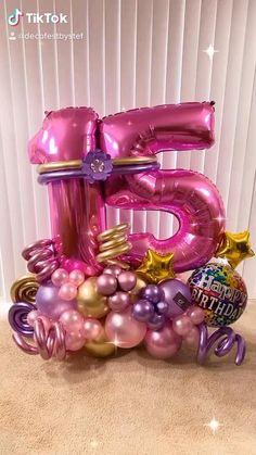 16 Balloons, Bubblegum Balloons, Balloon Backdrop, Balloon Columns, Balloon Garland, Birthday Balloons, Balloon Arrangements, Balloon Centerpieces, Balloon Decorations Party