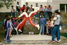 B-boys showing us what hip-hop culture really meant in the 80's