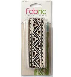 Fabric Creations™ Block Printing Stamps - Border - Tribal 1