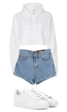 """"" by mariami-princess2013 ❤ liked on Polyvore featuring River Island, Chicnova Fashion and adidas"