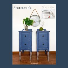 Country Chic Paint - Blues — Two Old Souls Blue Painted Furniture, Green Furniture, Vintage Furniture, Dining Room Hutch, Custom Calendar, Antique Vanity, Midnight Sky, Paint Line, Old Soul