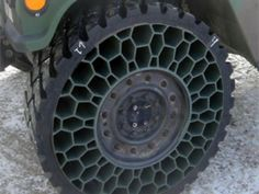 Airless military-inspired off-road tires New Tyres, Off Road, Cars And Motorcycles, Futuristic, Cool Cars, Inventions, Tired, Hot Rods, Creative