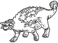 Ankylosaurus, : Ancient Animal Ankylosaurus Coloring Page Online Coloring Pages, Coloring Sheets, Folk, Snoopy, Animals, Fictional Characters, Art, Healthy Nutrition, Art Background