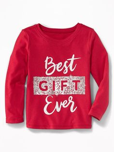 Christmas Graphic Tee for Toddler Girls