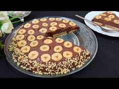 Banana Cake without oven / Easy and delicious recipe Good Food, Yummy Food, Cake Youtube, No Cook Desserts, Banana Recipes, Cake Cookies, Sweet Recipes, Chicken Recipes, Cooking Recipes