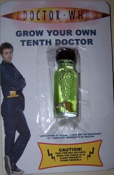 All I need is a healthy ovum and I can grow my own David Tennent!!!!