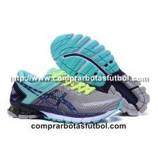 9966a9be01441 Mejor Zapatillas De Running Asics Gel Kinsei 6 Mujer Gris Verde Violeta
