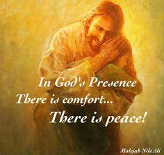 Peace in God's presence