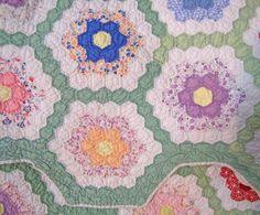Grandmother 39 S Flower Garden Quilt Images Free Grandmothers Flower Garden Quilt Pattern With